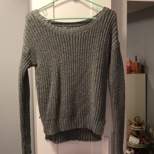 Cozy Gray Aerie Sweater